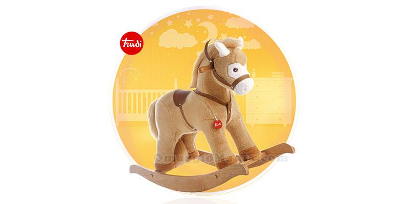 Cavallo A Dondolo Trudi Baby.Vinci Cavallo A Dondolo Trudi Con Plasmon Omaggiomania