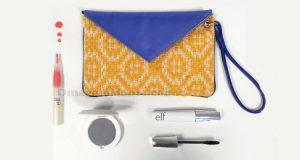 clutch Marakita e prodotti ELF Cosmetics