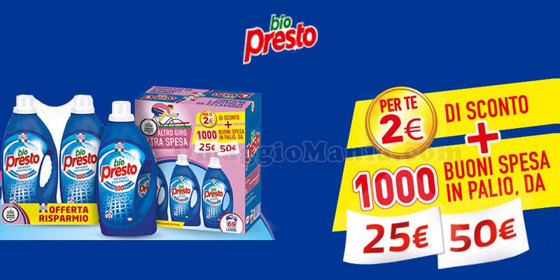 concorso Bio Presto Altro Giro Altra Spesa