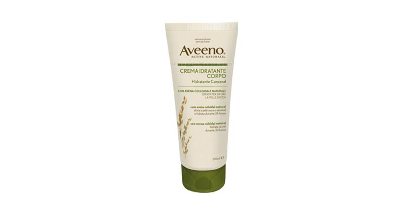 crema idratante corpo Aveeno