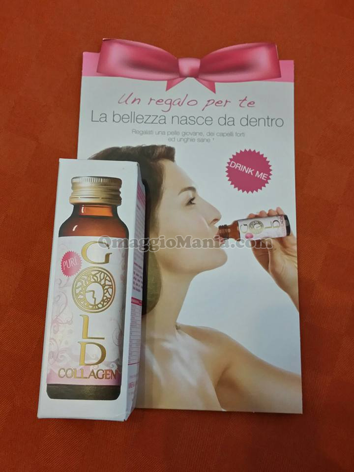 flacone Pure Gold Collagen di Valentina