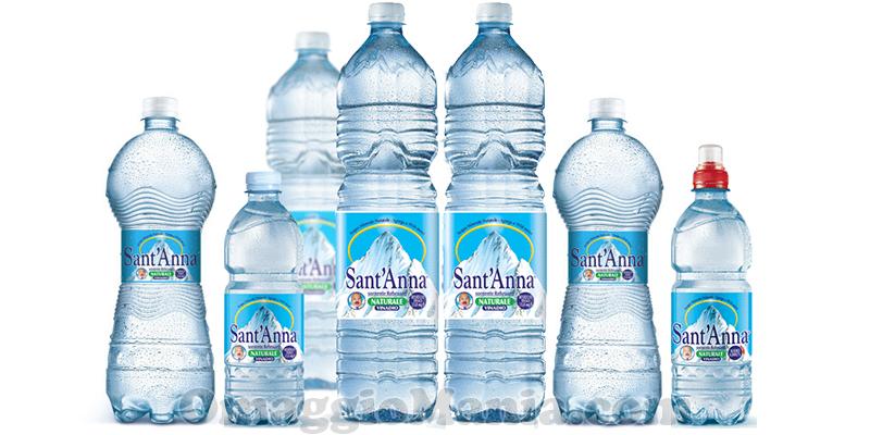 fornitura di Acqua Sant'Anna
