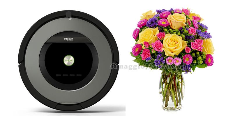 iRobot 866 e bouquet floreale