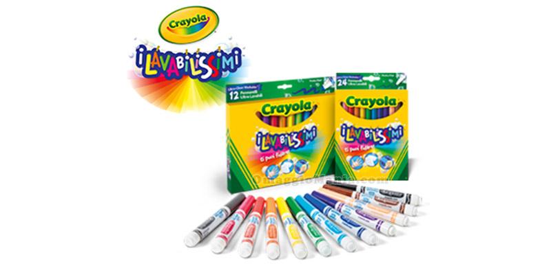 kit Crayola I Lavabilissimi