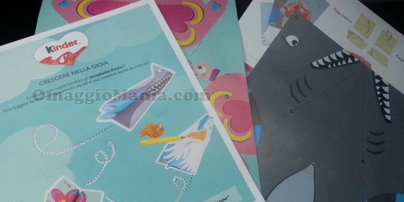 kit aeroplani di carta Kinder di Sabry77