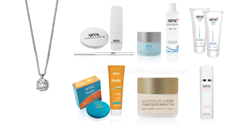 kit bellezza Arval e girocollo