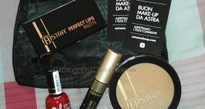 kit di cosmetici Astra ricevuto da Rox