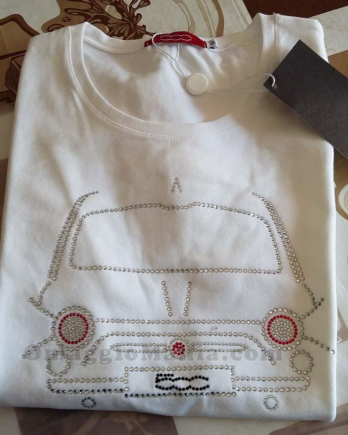maglietta FIAT 500 di Daniela