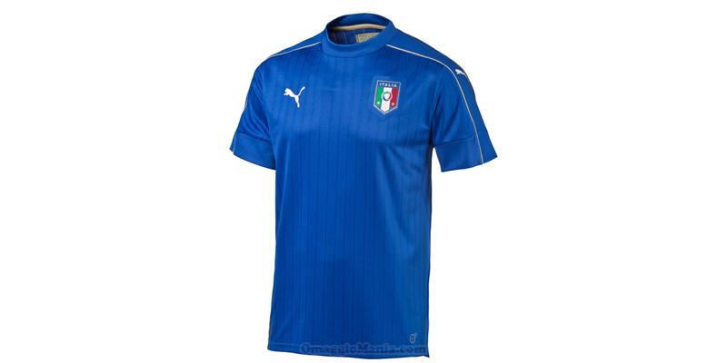 maglietta nazionale italiana 2016