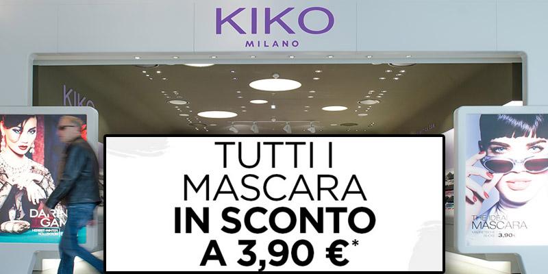 mascara 3,90 euro da KIKO