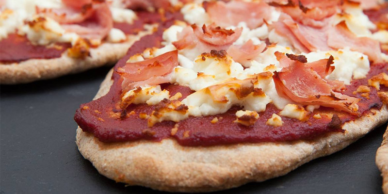 pizza pita-hawaiana