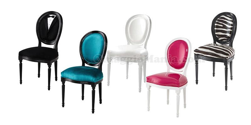 Maisons du monde vinci 800 sedie louis omaggiomania - Sedie ufficio maison du monde ...