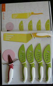 set coltelli pizza Brandani di Federica