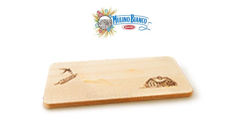 tagliere in legno Mulino Bianco