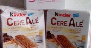 tazzina caffè Kinder CereAlé di Maria