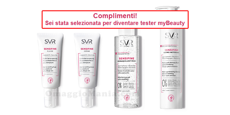 tester myBeauty SVR Sensifine