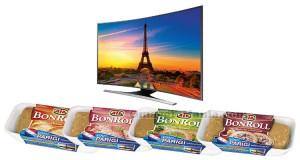 vinci TV LED Samsung o viaggio a Parigi con BonRoll AIA