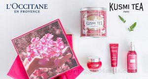 vinci cofanetto L'Occitane per Kusmi Tea
