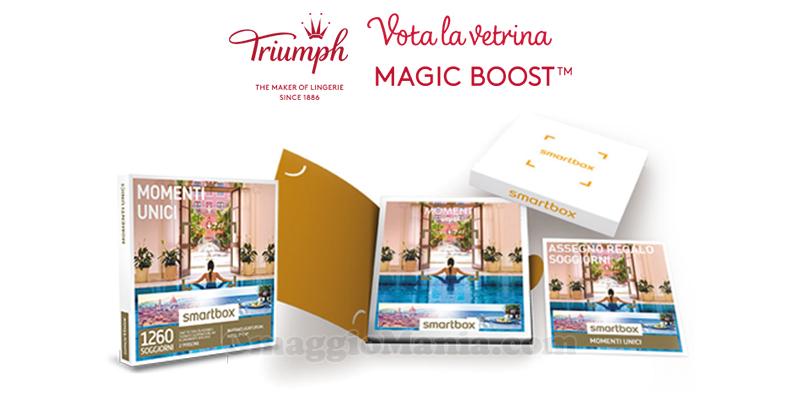 vota la vetrina e vinci Smartbox con Triumph