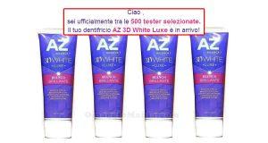 AZ 3D White Lux tester selezionate