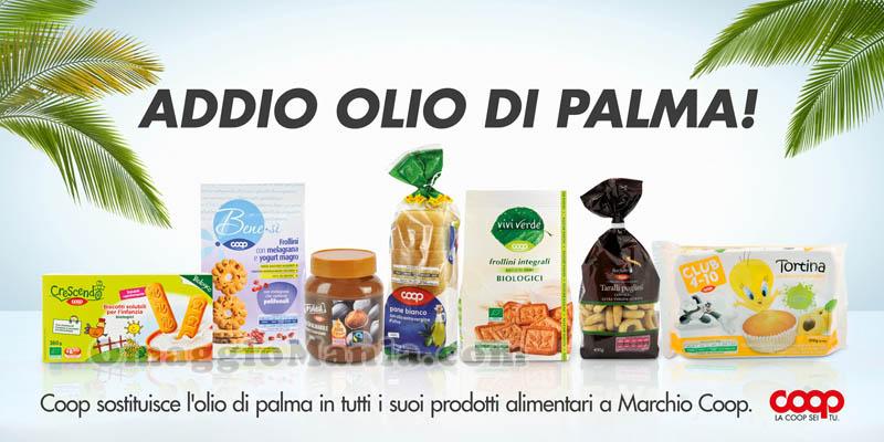 COOP Addio olio di palma