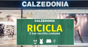 Calzedonia riciclo costumi 2016