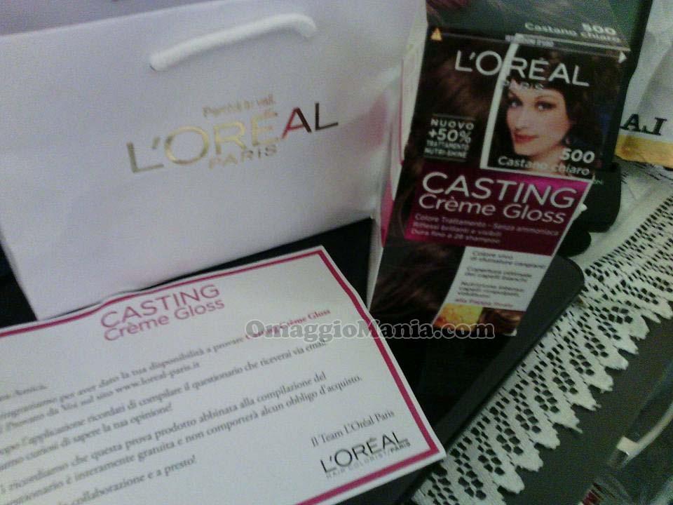 Casting Crème Gloss L'Oréal di Maria Cristina