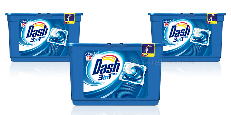 Dash Pods 3 in 1 pack