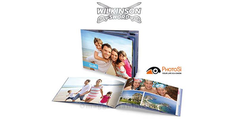 Fotolibro Attimi omaggio con Wilkinson