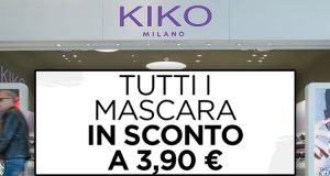 KIKO Milano tutti i mascara a 3,90