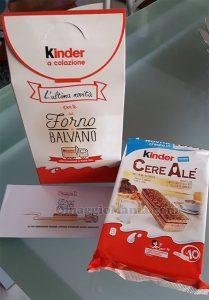 Kinder CereAlé latte fresco e cioccolato fondente di Federica