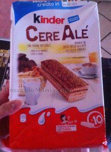 Kinder CereAlé latte fresco e cioccolato fondente di Giulia