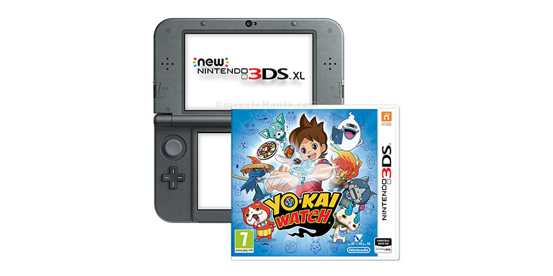 Nintendo 3DS XL e Yo-Kai Watch