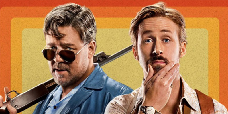 The Nice Guys Crowe e Gosling
