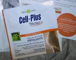 aqua scrub Cell-Plus di Elena
