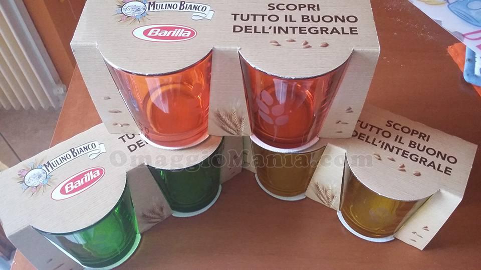 bicchieri Barilla Integrali di Donatella