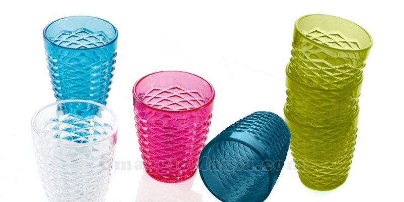 bicchieri Brandani omaggio da Acqua&Sapone