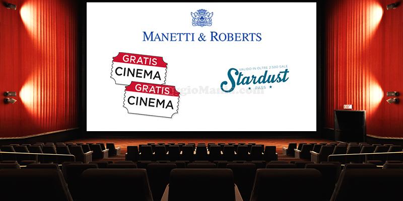 biglietti cinema omaggio con Manetti&Roberts