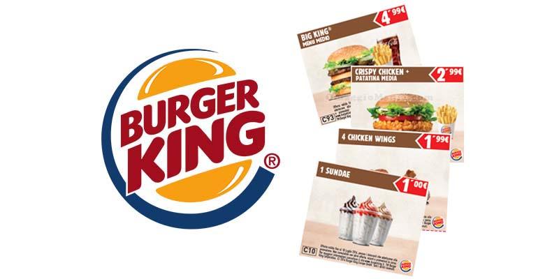 buoni sconto Burger King fino al 18 luglio 2016