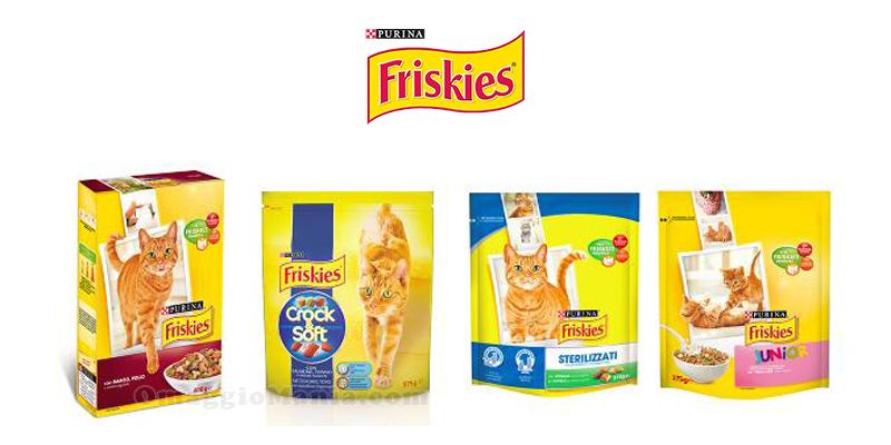 buoni sconto Friskies Purina