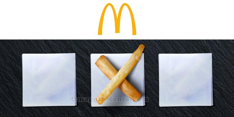 buono sconto McDonald's questionario