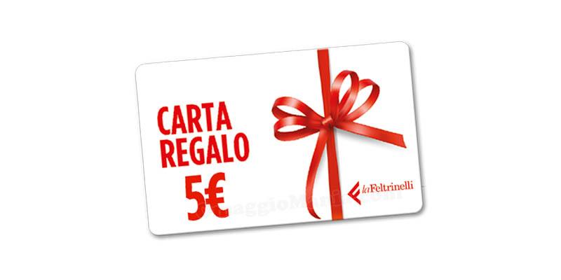 carta regalo La Feltrinelli 5 euro
