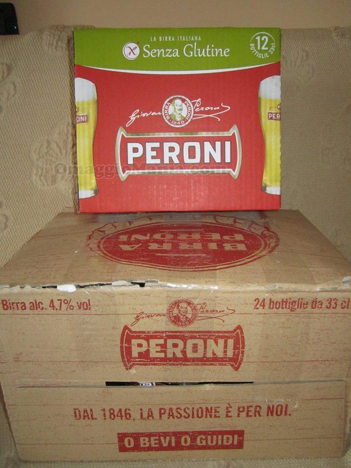 casse di birra Peroni di Lamù