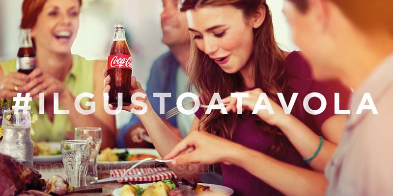 concorso Coca Cola #IlGustoATavola