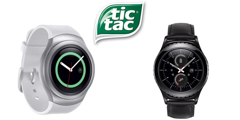 concorso Tic Tac smartwatch Samsung