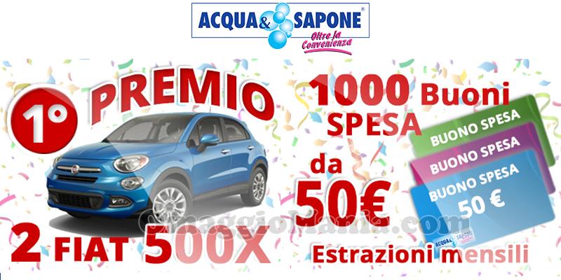 concorso Vinci con Acqua & Sapone