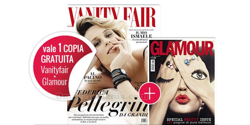 coupon omaggio Vanity Fair 20 e Glamour 88