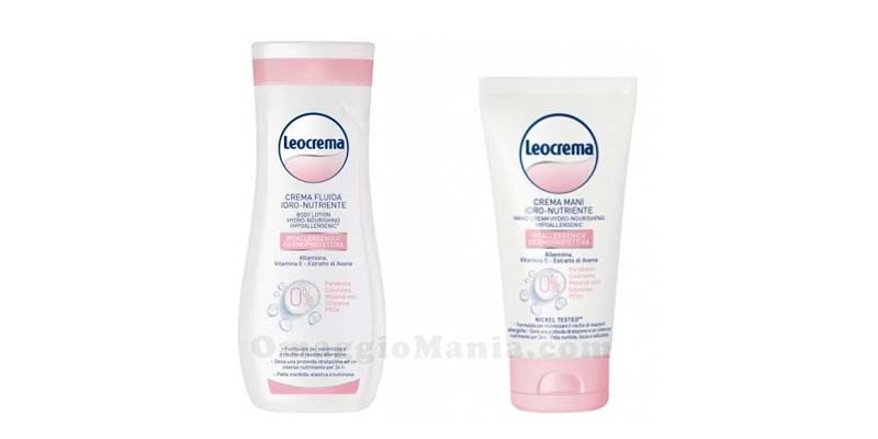 crema fluida e crema mani Leocrema