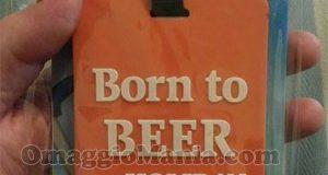 etichetta bagaglio Birra Bavaria