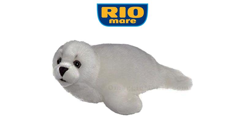 foca peluche Rio Mare